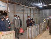 رئيس جامعة أسيوط يوجه بوضع خطة تسويقية لترويج منتجات مزارع الدواجن والماشية