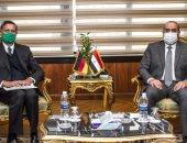وزير الطيران المدنى يستقبل سفير ألمانيا لدى مصر