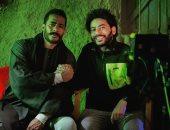 """مخرج """"موسى"""" فى صورة مع محمد رمضان من كواليس المسلسل بسوهاج"""