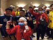 """اليابان يحتفل بالتأهل للدور الرئيسى لمونديال اليد على مهرجان """"اخواتى"""".. فيديو"""