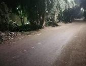 أمطار خفيفة تضرب مدن القليوبية والمحافظة تعلن رفع حالة الطوارئ.. فيديو وصور