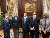 رئيس الشيوخ يستقبل أبو الغيط ويؤكد: الفترة القادمة ستشهد كثير من التعاون