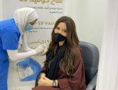 ميساء مغربى تتلقى لقاح كورونا: التطعيم للحفاظ على صحتى وحماية أفراد المجتمع