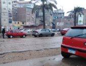 موجة من الطقس السيئ تضرب دمياط وأمطار على أغلب مدن المحافظة.. فيديو وصور