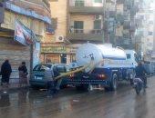 محافظ الدقهلية يتابع أعمال كسح تجمعات المياه بعد موجة الطقس السيئ
