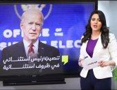 مراسم تنصيب بايدن رئيسا لأمريكا وأول قراراته فى تغطية تليفزيون اليوم السابع