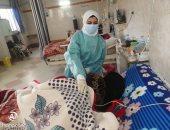 لجنة من الصحة تتفقد سير العمل بمستشفى قطور المركزى بالغربية