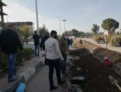 رئيس مدينة الأقصر يتفقد أعمال محطة تموين السيارات بالغاز الطبيعي