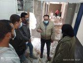 وكيل صحة بورسعيد يتفقد مستشفى الصدر ويتابع أعمال التطوير.. صور