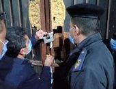 غلق وتشميع قاعة أفراح بدون ترخيص وتغريم 15 مواطن بلا كمامات بالأقصر