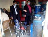 حملات مكبرة لرفع الإشغالات ومصادرة الشيشة من المقاهى بالشرقية.. صور
