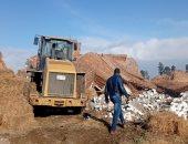 إزالة منزل مخالف على مساحة 120 مترا جنوب بورسعيد