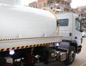 دعم منظومة النظافة فى المنوفية بسيارات شفط بتكلفة 2 مليون و660 ألف جنيه
