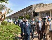 محافظ أسوان: إعادة الاستثمار بالمحجر البيطرى خلف ميناء السد العالى بعد توقف 26 عاما