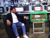 """أشيك بياع فريسكا لتليفزيون اليوم السابع: """"نفسى أشوف صلاح وأشتغل فى العلمين"""""""