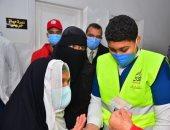 قافلة طبية تواصل تقديم الخدمات للمرضى بمستشفى الشيخ زويد بشمال سيناء