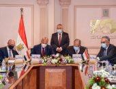 العربية للتصنيع توقع بروتوكولين تعاون لدعم مشروعات العمل بالغاز الطبيعى