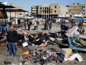 أثار مدمرة لتفجير استهدف منطقة الباب الشرقى فى بغداد × 10 صور