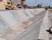 محافظ كفر الشيخ: استمرار تبطين الترع لتقليل الفاقد من المياه
