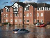 وزير البيئة البريطانى: لا حل للفيضانات الحالية بسبب ظاهرة التغير المناخ