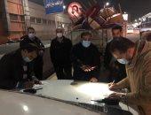 حملة مكبرة بشوارع الدقى لمتابعة الإجراءات الاحترازية لفيروس كورونا