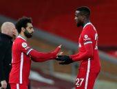 """مباراة ليفربول ضد بيرنلي .. الحارس يمنع محمد صلاح من التسجيل """"فيديو"""""""