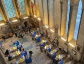 تحويل كاتدرائية بريطانية لمركز لقاحات كورونا لكبار السن والأطقم الطبية.. فيديو