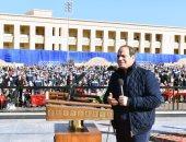 الرئيس السيسى لطلاب أكاديمية الشرطة: وزارة الداخلية تقوم بمهمة مقدسة.. فيديو