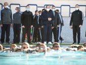 الرئيس السيسى يتفقد أكاديمية الشرطة فجرا.. ويطلع على منظومة تدريب الطلاب