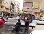 إزالة 439 حالة إشغال طريق ومصادرة شيش خلال حملات فى 4 مراكز بالبحيرة.. صور