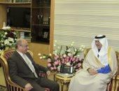 سفير السعودية بالقاهرة يستعيد ذكريات لقائه بوزير العدل.. ويعلق: قبل غزوة كورونا