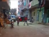 تاجر يضحى بحياته لإنقاذ والدته من الموت حرقا فى أوسيم بالجيزة.. بث مباشر
