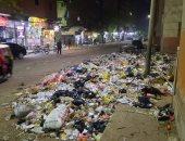 شكوى من انتشار القمامة فى الشارع الرئيسى بالخصوص بالقليوبية.. والمحافظ يرد