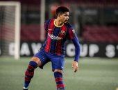 مدافع برشلونة : سنقاتل لتحقيق لقب الدوري الإسباني