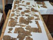 العثور على أجزاء من نصوص كتاب الموتى فى منطقة آثار السقارة