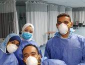 تعافى 5 حالات من كورونا ومغادرتهم مستشفى الأقصر العام