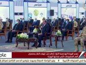 """الرئيس السيسي مشيدا بوزير الرى: """"رجل أمين ومحترم وحريص على مياه مصر"""""""