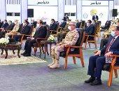 """الرئيس السيسي محفزا الشركات المصرية لتطوير الدولة: """"يلا نشتغل ونعمر بلدنا"""""""