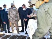 الرئيس السيسي: مخطط كامل لتطوير 4500 قرية وتكلفتها من الموازنة العامة.. فيديو