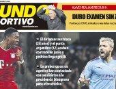 مباراة الريال وموقعة مانشستر يونايتد ضد ليفربول الأبرز فى صحف أوروبا