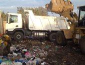 وحدة التدخل السريع بالشرقية تنقل 90 ٪ من القمامة للمدفن الصحى بالخطارة