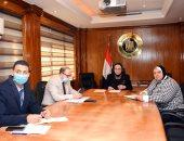 وزيرة الصناعة: مصر حريصة على تنمية العمل العربى لزيادة معدلات التجارة