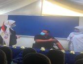 وزيرة الصحة تعطى إشارة بدء تطعيم الفرق الطبية بلقاح كورونا فى 40 مستشفى عزل