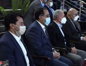 رئيس الوزراء يحضر مباراة مصر وسلوفينيا فى بطولة العالم لكرة اليد للرجال