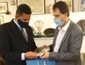 متحف الأدب الصربى يستقبل كتابين موقعين لـ نجيب محفوظ ومحمد سلماوى