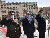 محافظ أسوان يهنئ الرئيس السيسى بعيد الشرطة وذكرى ثورة 25 يناير