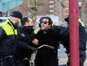 الشرطة الهولندية تعتقل 150 شخصا فى ثالث ليلة من أعمال العنف بسبب حظر التجول