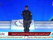 الرائد البطل صلاح الحسينى: اللى قدمته أقل بكتير من زمايلى اللى ضحوا بأرواحهم