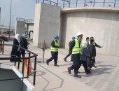محطة مياه الشروق بالخانكة فى القليوبية تحصل على شهادة الفنية TSM