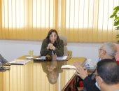 محافظ دمياط تعقد اجتماعا لمناقشة الخطوات التنفيذية لمشروع إنشاء المنطقة الحرة